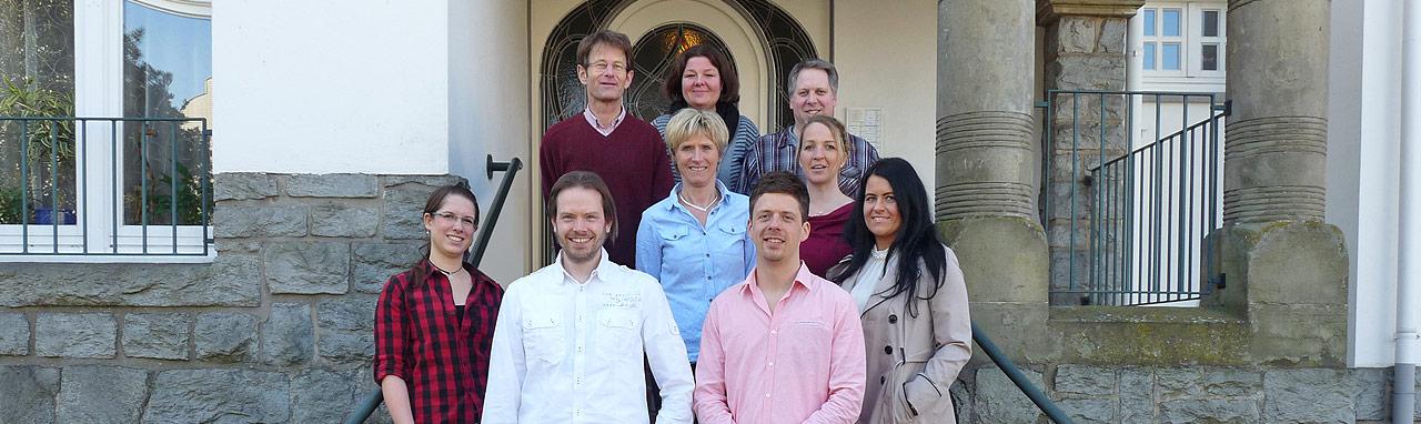Teamfoto - Praxis für Physiotherapie